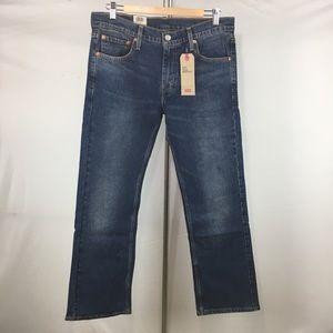 Levis 527 Slim Bootcut Stretch Jeans Mens 33x30